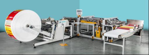 全自动编织袋切缝机生产线
